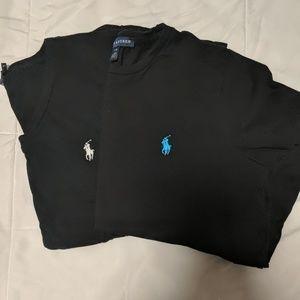 Ralph Lauren Black T-shirts.